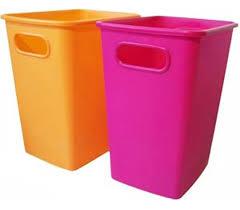 Yellow Wastebasket 5 Gallon College Wastebasket Dorm Room Living Necessities
