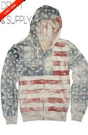 Denim And Supply Jacket New Ralph Lauren Denim And Supply Usa American Flag Hoodie Sold