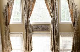 Curtains For French Doors In Kitchen by Decor Beautiful Kitchen Window Treatments Beautiful French