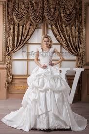 a line square neckline beaded embroidered wedding dresses