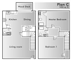 floor plans 1000 square floor plans windmill townhomes