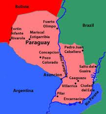parana river map paraguay travel information beachcomber pete travel adventures