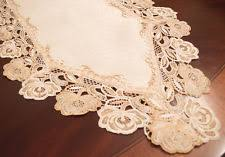 Navy Blue Lace Table Runner Table Runners Ebay