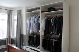 ikea curtain hacks functional bedroom closet and cupboard examples that will make
