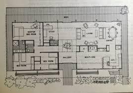 baby nursery mid century floor plans mid century home plans