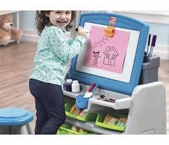 flip and doodle desk step2 flip doodle easel desk stool solo 35 99 en kohl s