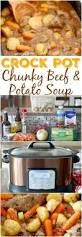 crock pot chunky beef u0026 potato stew recipe country cooking