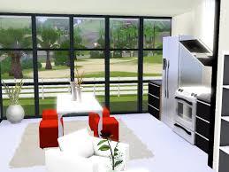 cuisine sims 3 petit meuble tv pour chambre 14 loft cube ii top design sims3