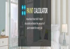 how to calculate paint needed for interior home interior painting