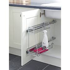 under kitchen sink storage solutions wickes under sink pull out wickes co uk