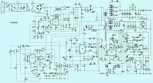 toshiba 27wl46 power supply smps schematic circuit diagram