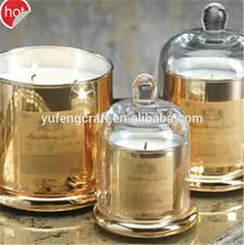 online sale round dome glass candelbra for candle making home