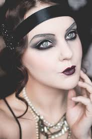 Black Eye Makeup For Halloween Best 25 Flapper Makeup Ideas On Pinterest 1920s Makeup Roaring
