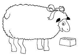 coloring pages sheep animated images gifs pictures