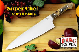 bark river kitchen knives chef 10 knife