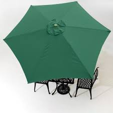 Patio Umbrellas Ebay by 9ft Patio Umbrella Replacement Canopy 6 Rib Outdoor Market Garden