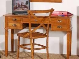 bureau teck massif bureau et console en teck meubles pour le salon lotuséa