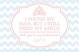bridesmaid invitations template will you be my free downloads disney weddings