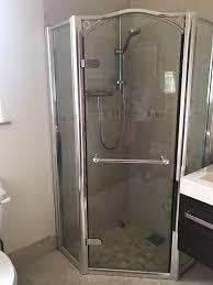 Daryl Shower Doors Daryl Arcadia Pentagon Hinged Shower Enclosure 900 X 900 In