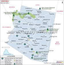 Arizona national parks images Arizona national parks map jpg