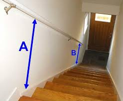 Banister Height Wooden Handrail For Stairs Latest Door U0026 Stair Design