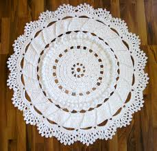 dances with wools blog archive a giant crochet doily rug for