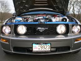 2008 ford mustang gt horsepower updated engine bay pics 2008 blown mustang gt ford mustang forum