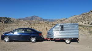 toyota mobile home way cheaper than a conversion van vanlife home made teardrop