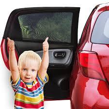 amazon com fast mile car window shade 2 pack baby
