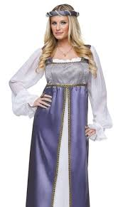 Womens Robin Halloween Costume Womens Juliet Maid Marian Medieval Renaissance Halloween Costume