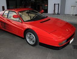 classic ferrari testarossa garage dumat luxury cars