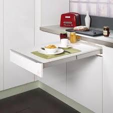 table cuisine escamotable tiroir table amovible pour p 39 d j dans puck table cuisine