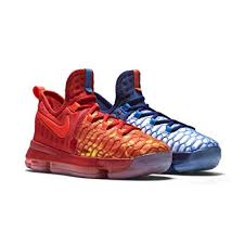 k d amazon com nike kd 9 fire ice 7y university red deep royal