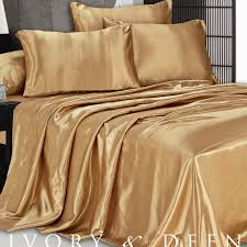 satin bed sheets luxurious satin bed sheet ebay com satin to