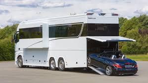 volkner rv luxurious 1 million motorhome sleeps your family and your porsche