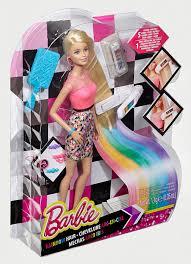 buy barbie rainbow hair doll multi color prices