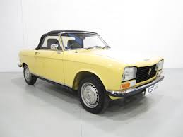 peugeot classic cars a chic and immaculate peugeot 304s convertible 36 485 miles and