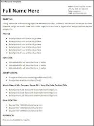 Professional Resume Builder Federal Resume Templates Printable Resume Builder Printable