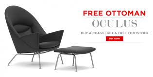 free ottoman with wing chair oculus chair purchase danish