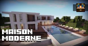 Plan Minecraft Maison by Tuto Maison Moderne Grande Maison Youtube