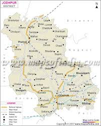 Punjab India Map by Jodhpur District Map Tourism Facts And Information