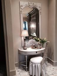 seattle distressed bathroom vanity powder room contemporary with