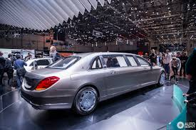 mercedes maybach 2015 geneva 2015 mercedes maybach s600 pullman