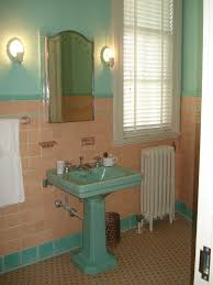 bathroom cute small bathroom decoration using floor standing appealing bathroom decoration using bathroom pedestal sinks comely image of pink blue bathroom decoration using