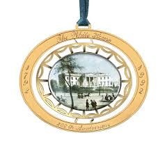 White House Christmas Ornament - thirty five years of white house christmas history the journal