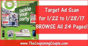 target black friday lafayette target ad scan for 1 22 to 1 28 17 browse all 24 pages