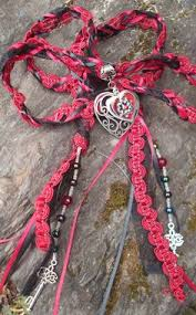 wedding handfasting cord tree of handfasting cords for a pagan wedding pagan wedding