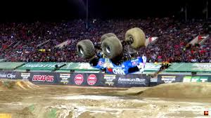 how many monster jam trucks are there monster truck lands first ever front flip proves anything is possible