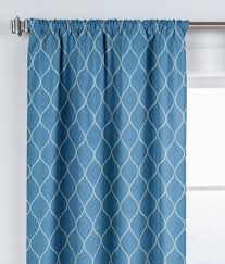 curtains 91 width curtains drapes c a amazing blue trellis