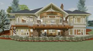 don gardner butler ridge the sandy creek house plan great elevation and plan for a walkout